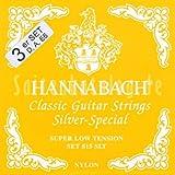 Hannabach 8157 SLT Silver Special, 3-Bass Set