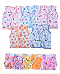 Sathiyas Infant Wear 0-3 Months (Pack of 10)