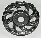 Im Trennscheibenshop Schleifteller, ST83_Ø 150 mm, Schleiftopf, Estriche, Asphalt, Putz abrasive Baustoffe,