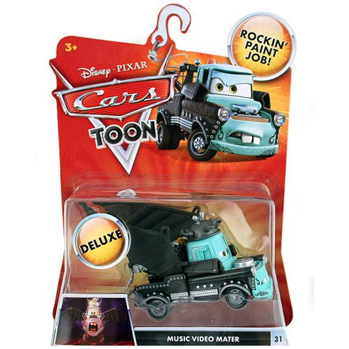 Disney Pixar CARS TOON Exclusive Oversized Die Cast Car MUSIC VIDEO MATER / MARTIN # 31 - Véhicule Miniature - Voiture