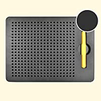 Ocamo Juguetes educativos para niños Tablero de Dibujo magnético Tablero de Escritura Libre de la Bola de Acero de la Escritura