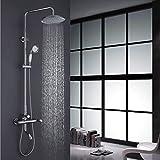 Yn Duschset Kupfer Triple Funktion Dusche Bad Regen Dusche Duschkopf Sanitärkeramik Badezimmer Bad Dusche Handbrause