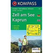 Zell am See, Kaprun: Wandern, Rad, Langlauf, Skitouren. Mit Panorama. GPS-genau. 1:35.000