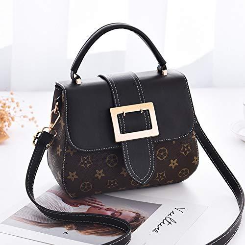 Tigvkf&Rjkvl Damen Umhängetasche Damentasche Handtasche Mode Handtaschen Schulter Messenger Bag Drucken Kleine Quadratische Tasche -