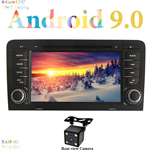 XISEDO Android 8.0 Radio Coche RAM 4G ROM 32G Estéreo