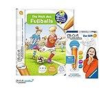 tiptoi Ravensburger Buch | Die Welt des Fußballs (Band 21) Stift mit Aufnahmefunktion