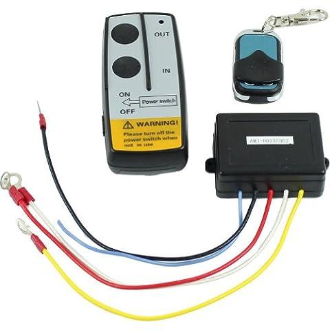 ESTRON 24V WIRELESS FERNBEDIENUNG Kit Telefonhörer für Truck Jeep ATV SUV Seilwinde warnen Ramsey