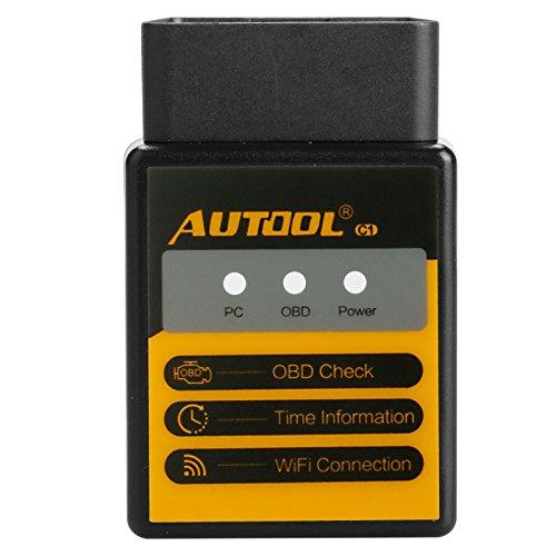 WIFI OBDII Scanner WIFI ELM327 OBD2 Adapter Code Reader Scan Tool Für Android iOS PC ICar2 Automotive Motor Diagnostic Scanner - Öffnen Sie Das Netzwerk-ports