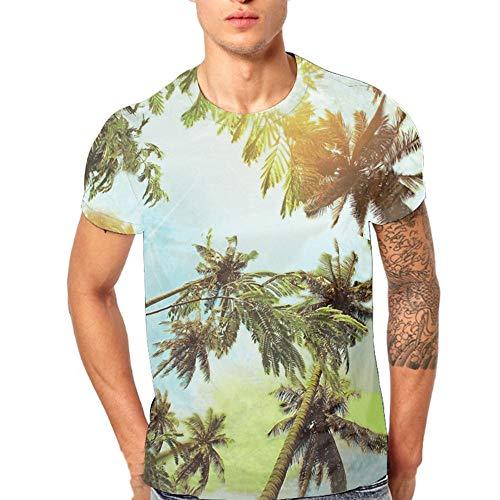 226db3352246 2019 Camicia Uomo Maglietta Manica Corta - Uomo T Shirt Maglietta Animale  3D Stampa Tees Camicia