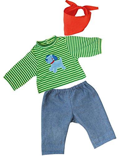 bayer-design-84645-vetement-pour-poupee-habit-poupon-pantalon-du-jeans-t-shirt-40-46-cm