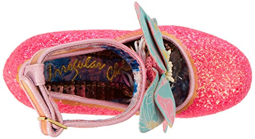 Irregular Choice Damen Sweet Melody Riemchen Pumps Pink (Pink)