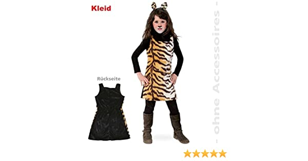 Fries 1934 Sweet Tisha Kleid Kinder Kostum Tiger Muster Karneval