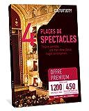 CULTUR'IN THE CITY Coffret Cadeau - 1200 Spectacles Premium - 450 Salles Partenaires Partout en France Théâtre, Comédie, One Man Show, Danse, Magie et Autres ! (4)