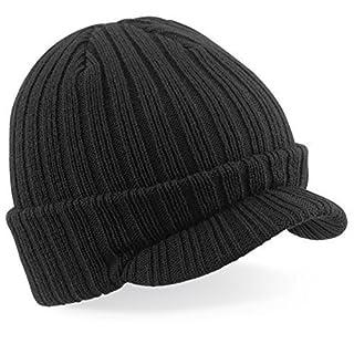 ShirtInStyle Woll-Strickmütze, Fashion-Hat, Wintermütze, Farbe Schwarz