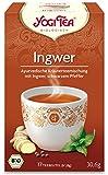 YOGI TEA Ingwer-Tee im Beutel (17 Beutel) - Bio