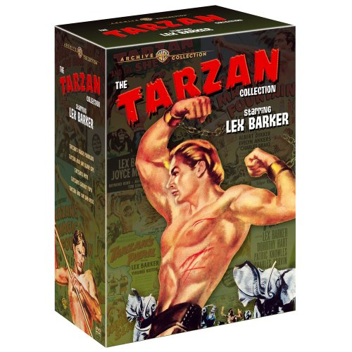 The Tarzan Collection Starring Lex Barker [DVD] [1953] [Region 1] [US Import] [NTSC]