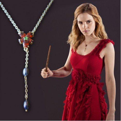island-gifts-harry-potter-hermione-granger-rouge-cristaux-fleur-verte-et-perles-deau-douce-rose-coll