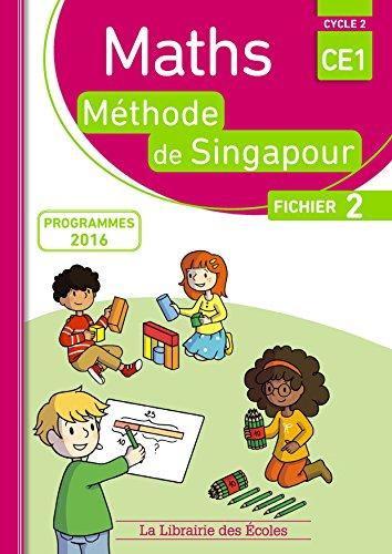 Maths CE1, mthode de Singapour, fichier 2 : Programmes 2016