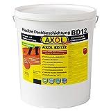Dachsanierung, Dachbeschichtung zum Abdichten von Eternit-Platten, Faserzement. 12kg Gebinde in der Farbe ziegelrot