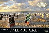 Meerblicke - Nord- und Ostsee 2020: Großer Foto-Wandkalender von der Küste und dem Meer in Deutschland. Edler schwarzer Hintergrund und Foliendeckblatt. PhotoArt Panorama Querformat: 58x39 cm.