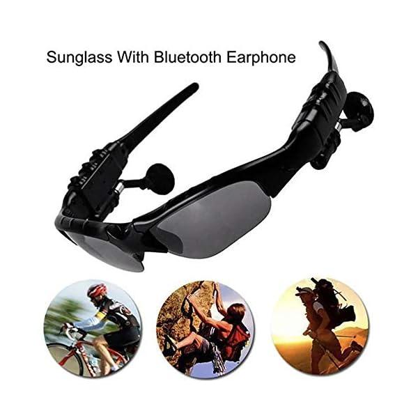 Multifuncionales Móviles Digitales, Gafas De Sol De Los Vidrios De Bluetooth Bluetooth para Auriculares De Manos Libres… 2