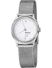Mondaine Damen-Armbanduhr Helvetica No1 Light 26mm Analog Quarz MH1.L1110.SM