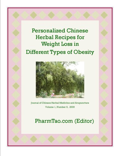 Personalized Chinese Herbal Recipes for Weight Loss in Different Types of Obesity (Journal of Chinese Herbal Medicine and Acupuncture)