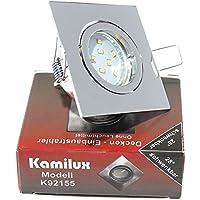 MR16 12V ohne Halogen Led Leuchtmittel Einbauspotleuchte Louis GU10 230V