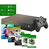 Xbox One X Battlefield V Gold Rush Special Edition Bundle + Xbox Game Pass 6 Monate