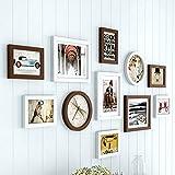 Fotorahmen Europäische Fotowand Kreative Bilderrahmen Wand Moderne Einfache Wohnzimmer Schlafzimmer Haus Flur Foto Wand - Fotowand (Farbe : C)