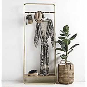 Nordal Gold Metall Garderobe