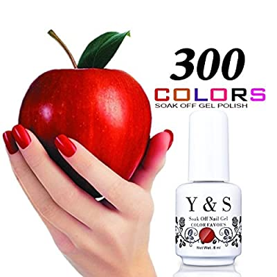 Y&S Brand Gel Polish Polish Soak Off UV LED Gel Nail Polish Nail Lacquer Manicure Nail Art Gel Polish 8ML