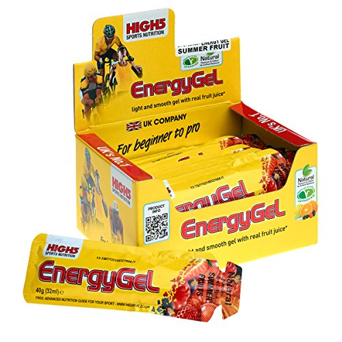 High5 Energy Gel 20 geles x 40 gr - Sabor - Summer Fruits