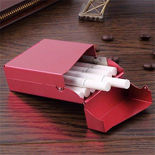 Kent segna porta sigaro sigaretta di tabacco in alluminio con custodia in grado di mettere in 20PCS sigaretta