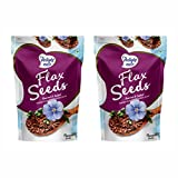 #6: Delight Nuts Flax Seeds Roasted & Salted- 200gm (Pack of 2)