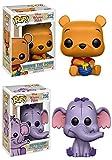 Funko POP! Winnie The Pooh: Winnie The Pooh + Heffalump - Disney Vinyl Figure Set NEW