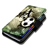 Book Style Flip Handy Tasche Case Schutz Hülle Schale Motiv Etui für Sony Xperia M2 - Flip A49 Design2