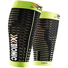 X-Bionic Spyker Competition Compresores, Hombre, Negro/Verde aci, M