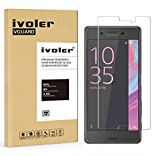 Sony Xperia X Performance Protection écran, VGUARD Film Protection d'écran en Verre Trempé Glass Screen Protector Vitre Tempered pour Sony Xperia X Performance- Dureté 9H, Ultra-mince 0.20 mm, 2.5D Bords Arrondis- Anti-rayure, Anti-traces de doigts,Haut