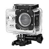 OverDose Wasserdichte 4K SJ60 Wifi HD 1080P Ultra Sports Action Kamera DVR Cam Camcorder (Black)