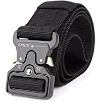 MUMUGO Cinturón táctico de los hombres Estilo militar con nosotros Cinturón de nylon de alta resistencia