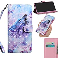 Nokia 6.1 2018 Case Leather PU Cover Folio Flip Wallet Cover Book Style Case Dura Notebook Case Pretty Cartoon 3D Animal Painted Case