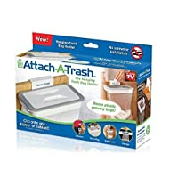 Attach A Trash Cupboard Door Back Trash Rack Storage Garbage Bag Holder Hanging Kitchen Cabinet Hanging Trash Rack kitchen Tools