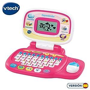 VTech 80-155457 - Pequeordenador, Ordenador infantil con más de 20 actividades de letras, números, animales, lógica y música