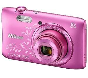 NIKON S3600 - rose arabesque - Appareil photo numérique