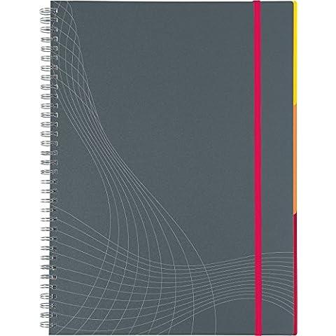 Avery España 7016 - Cuaderno para apuntes, A4, color gris