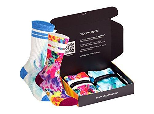 5er Pack Smiley Damen Füßlinge Sneaker Socken aus Baumwolle bequem weich weiß