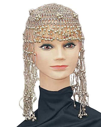 LADIES 20'S,70'S,ABBA,CLEOPATRA EGYPTAIN HEADPIECE FANCY DRESS ACCESSORY (Egyptian Fancy Dress Ideen)