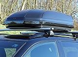 Menabo 36100000 Dachbox Mania 320, glänzend, universal, Dachkoffer aerodynamisch, schwarz - 4