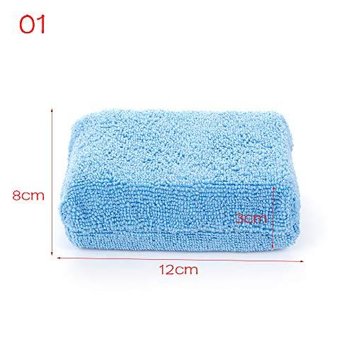 LIANGEGE Autowaschlappen Mikrofaser Handtuch Tuch Wachs Polieren Waschen Reinigen Schwamm Block Automobile & Amp; Motorräder Autowaschanlage - Haare Waschen Wachs